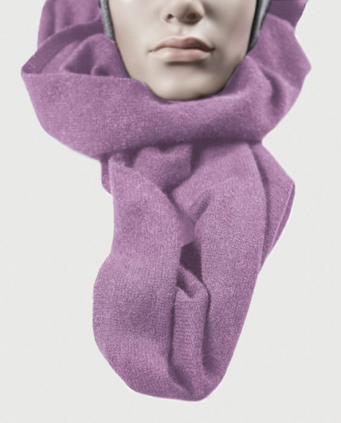 lila kaschmir schal