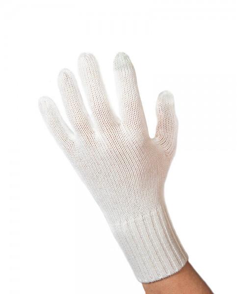 weisse kaschmir handschuhe