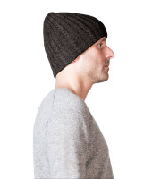schwarze kaschmir mütze