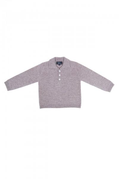 ginger kaschmir baby polo pullover
