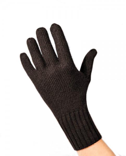 dunkelbraune kaschmir handschuhe