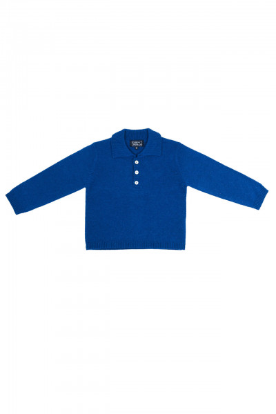 prussian kaschmir baby polo pullover