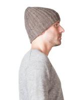 taupe kaschmir mütze